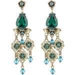 Konplott ETERNAL GLORY Ohrringe blue/green antique brass