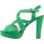 Anna Field High Heel Sandaletten green