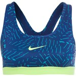 Nike Performance PRO CLASSIC BASH SportBH blue lagoon/deep royal blue/flash lime