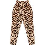 Kalhoty tureckého typu s leopardím vzorem MOTEL