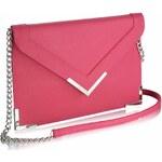 LS Fashion Růžové psaníčko LSE00179 růžová