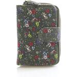 Khaki kytičková peněženka Spooky 94539 zelená