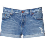J Brand Jeans Blue Vintage Hot Pants