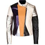 3.1 Phillip Lim Leather Patchwork Biker Jacket