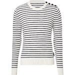 Burberry Brit Cashmere-Cotton Blend Striped Pullover