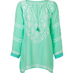 Melissa Odabash Laura Tunic in Mint