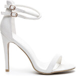 KOI Lehké a úchvatné bílé sandále na podpatku - ED1W.LI /S3-11P
