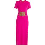 Michael Kors Short Sleeve Jersey Dress with Belt