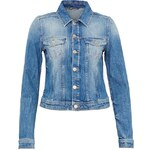 Hallhuber Jeansjacke in Used-Waschung