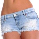 Fashion Trendy džínové kraťasy