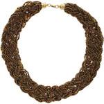 Elegantní pletencový náhrdelník LA FEMME