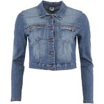 Džínová kratší bunda Vero Moda Blue