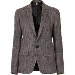 Topshop Modern Tailoring Herringbone Slouch Blazer