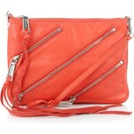 Rebecca Minkoff Moto Crossbody Blood Orange Handtaschen