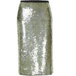 Topshop **Sequin Pencil Skirt by Unique