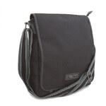 Černá pánská taška přes rameno Enrico Benetti 54217 černá