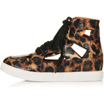 Topshop ASHTON Cut Out Trainers