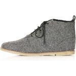 Topshop MANIA Shearling Desert Boots