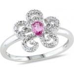 Stříbrný prsten se Zirkony Ag925 Desiree