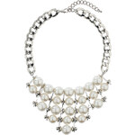 Topshop Pearl Statement Necklace