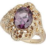 Topshop Ornate Stone Ring