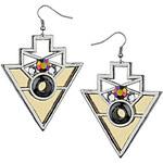 Topshop Geo Triangle Drop Earrings
