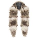Topshop Shaggy Oversize Fur Collar