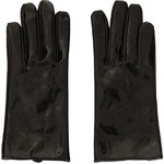 Topshop Short Vinyl Leather Gloves