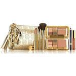 Estee Lauder kosmetický set zlatý dárková sada designed by Michael Kors