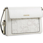 Bílá kabelka Calvin Klein Kenzie crossbody
