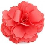 Květina do vlasů a na klopu červená A25892