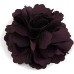 Květina do vlasů a na klopu fialová A25888