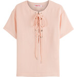 See by Chloé Lace-Up Front Top