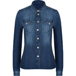 Seven for all Mankind Denim Classic Western Shirt