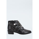 Tally Weijl Black Studded Ankle Boots