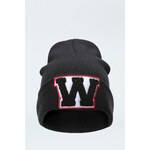 "Tally Weijl Black ""W"" Beanie Hat"