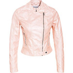 Terranova Faux leather biker jacket