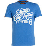 Superdry T-Shirt blau