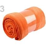 Stoklasa Deka CORAL plyšová 220x240cm gramáž 280g/m2 (1 ks) - 3 oranžová