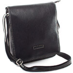 Černá moderní pánská taška přes rameno Hexagona 409111 černá