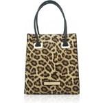 Hnědý leopardí shopper Anna Smith