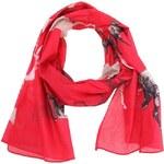Červený šátek s koňmi Disaster Heritage & Harlequin Horse