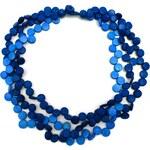 Lotusfeet Manumit fair trade náhrdelník černý