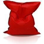 Ecopuf Sedací polštář (pytel) Evropa červený nylon
