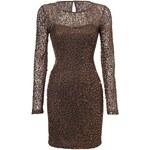 BODYFLIRT Úpletové šaty s flitry bonprix