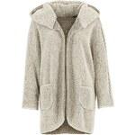 RAINBOW Kabát s medvídkového materiálu bonprix