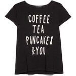 MANGO Baumwoll-T-Shirt Mit Schriftzug