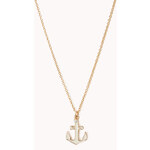 Forever 21 Sea Bound Anchor Necklace