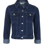 Topshop MOTO Raw Indigo Western Jacket