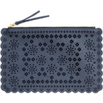 H&M Clutch bag with a hole pattern